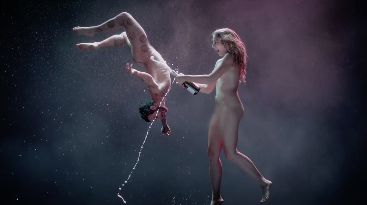Dancing Naked With Robots