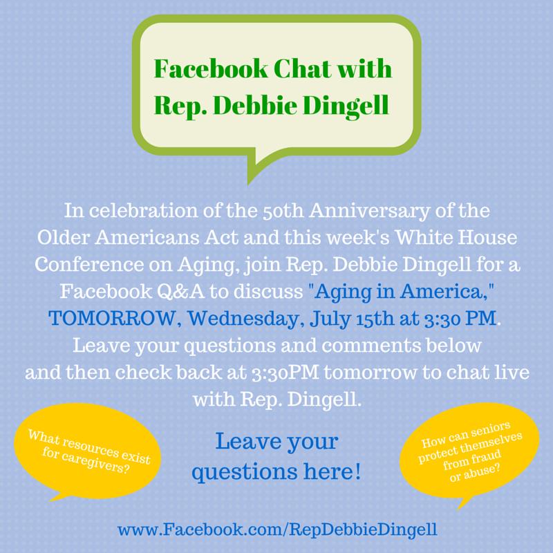 Rep  Debbie Dingell on Twitter: