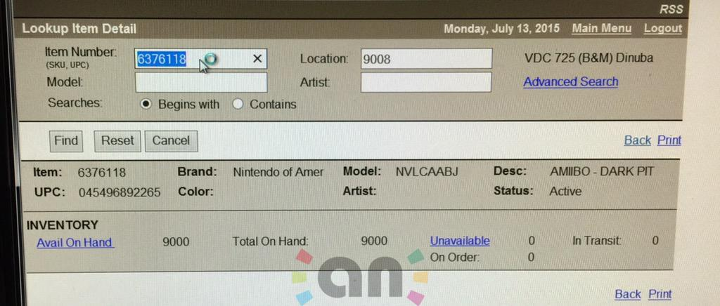 Amiibo News Report Over 100 Dark Pit Amiibo Available