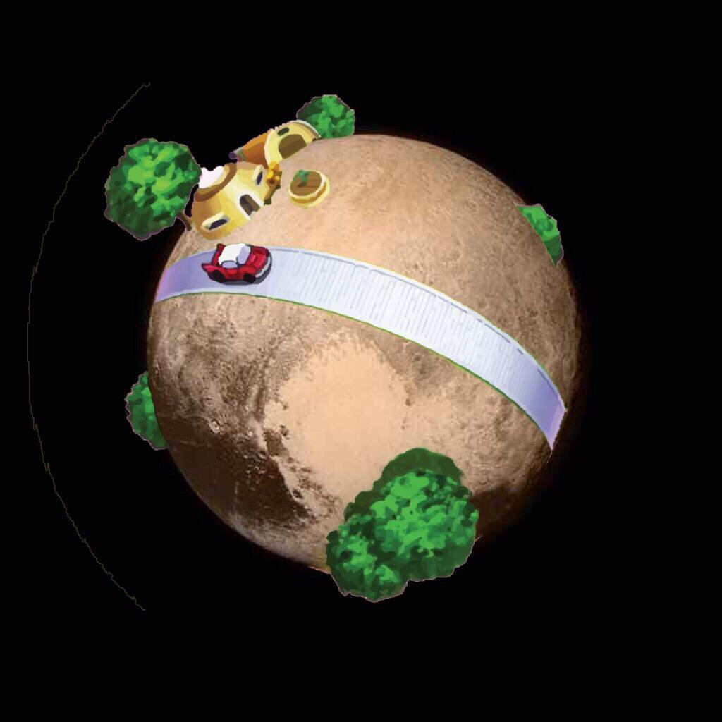 NASA edited that Pluto pic. Here's the real one http://t.co/yhqMlCt9lo