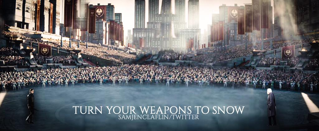 Image result for turn your weapons to snow