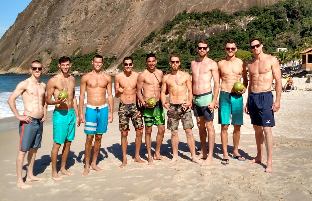 The U.S. Men had some fun on the beach today before getting back to work for @fivbworldleague http://t.co/gzbCKw7ZAc
