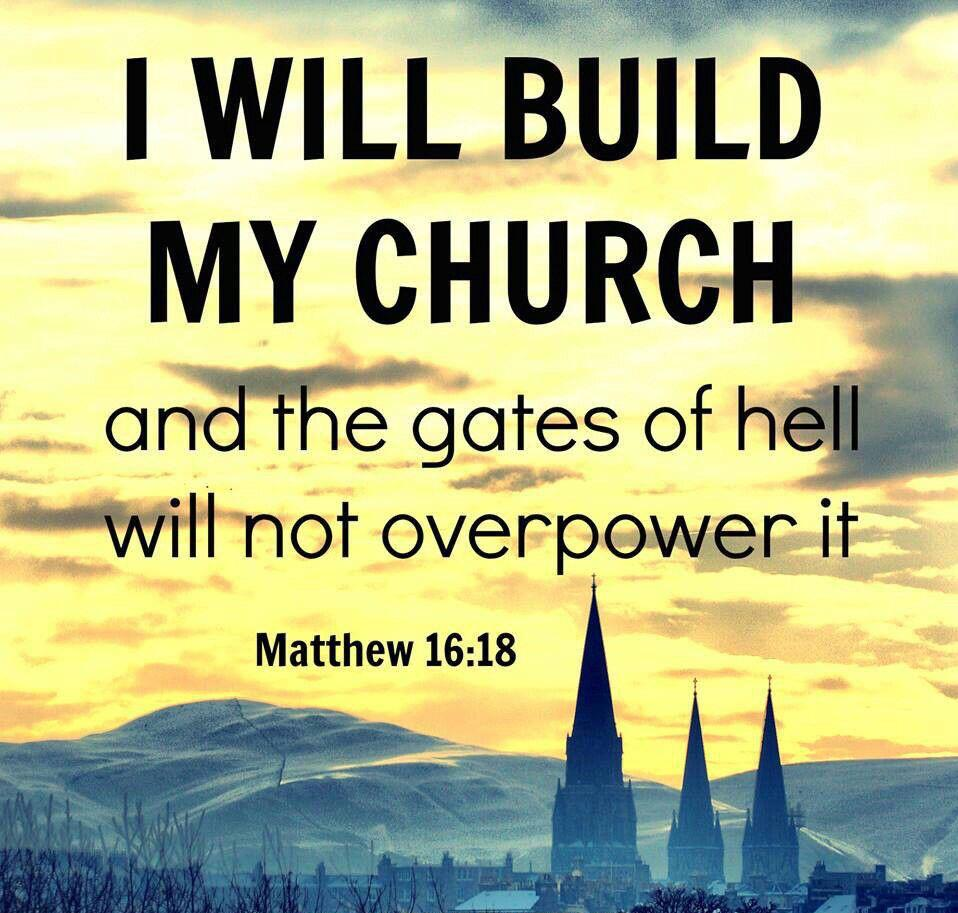 """Maria on Twitter: """"""""...And I say also unto thee, That thou art Peter, and  upon this rock I will build my church..."""" Matthew 16:18 KJV  http://t.co/oypkXds9ns"""""""