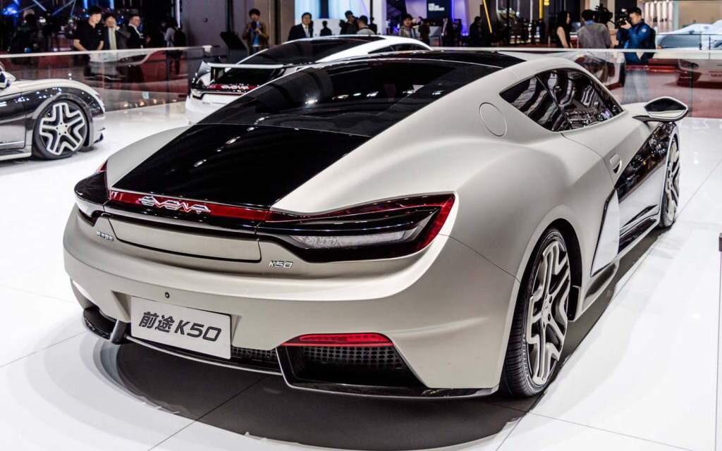 Qiantu K50 electric sports coupe