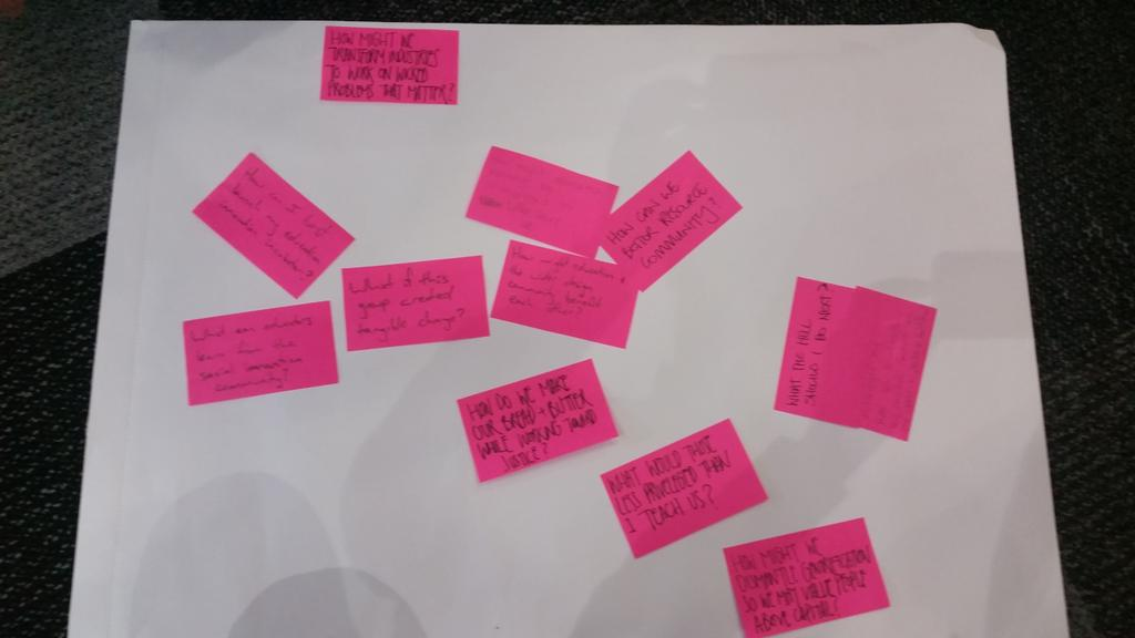 Some questions driving our groups participation at #dsi2015 http://t.co/b49FMxHBsm
