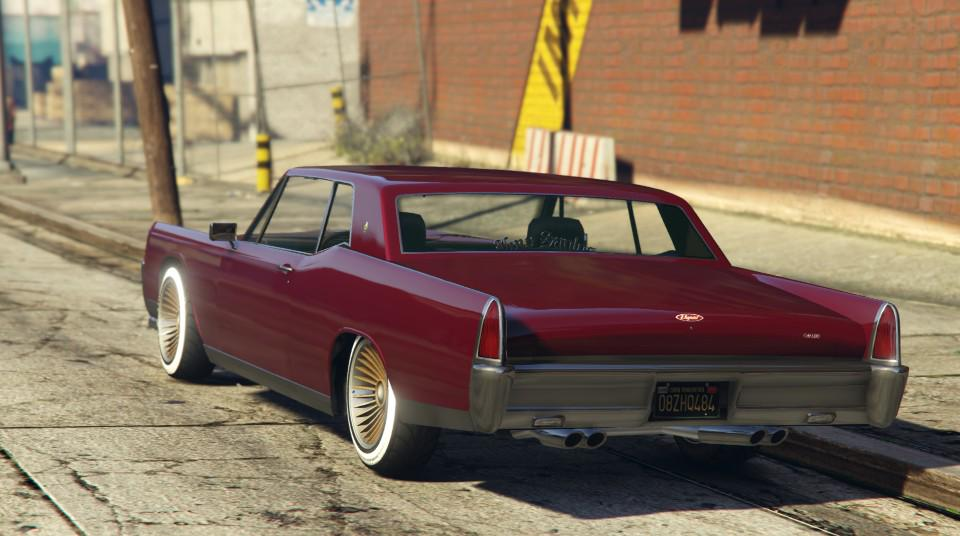 Gta Cars On Twitter Gta Muscle Car Vapid Chino Detailed