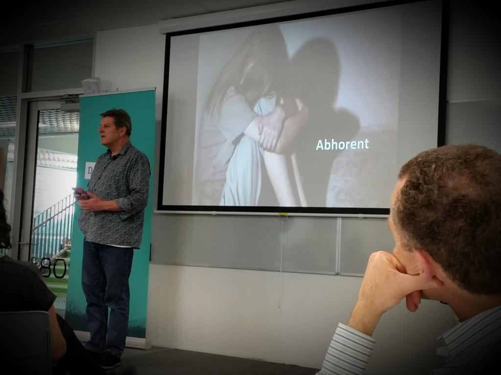 """""""Poverty is abhorrent"""" Noel Brown of @DNA_NZ. Increasing government acceptance of this truth. #poverty #SDoH #dsi2015 http://t.co/tjnARduoM0"""
