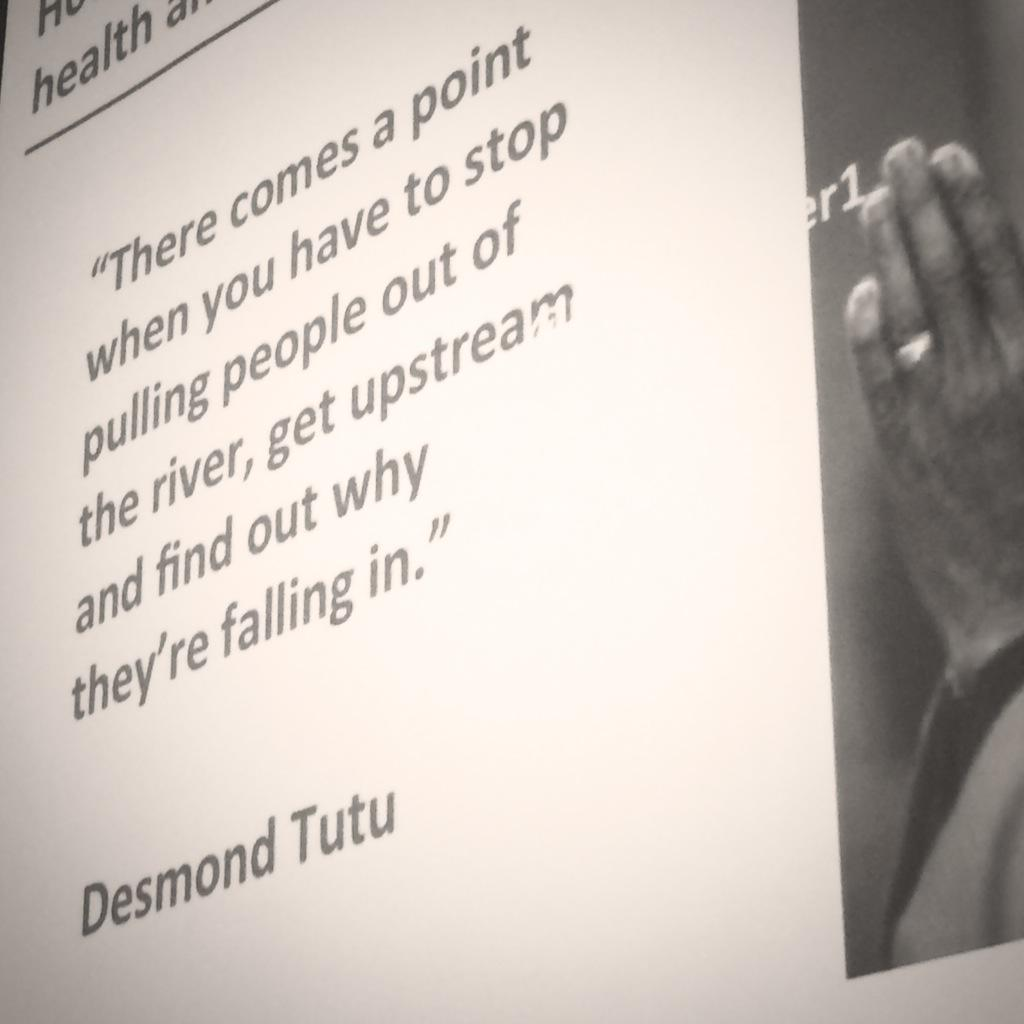 Lovin' this quote from @TheDesmondTutu - Thanks for sharing @LynneMaher1 #CaptureToCoDesign #dsi2015 http://t.co/7OOmbJd0pS
