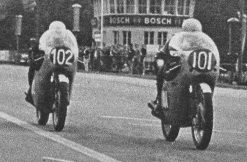 #OnThisDay in 1962, Jim Redman on the Honda RC162 wins 250cc #GermanGP, by just 0.1 sec. over teammate Bob Mcintyre