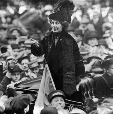 Emmeline Pankhurst, leader of the #Suffragettes, was born #onthisday in 1858 http://t.co/ndT6UwjDRD #twitterstorians http://t.co/KFwurUUG3g