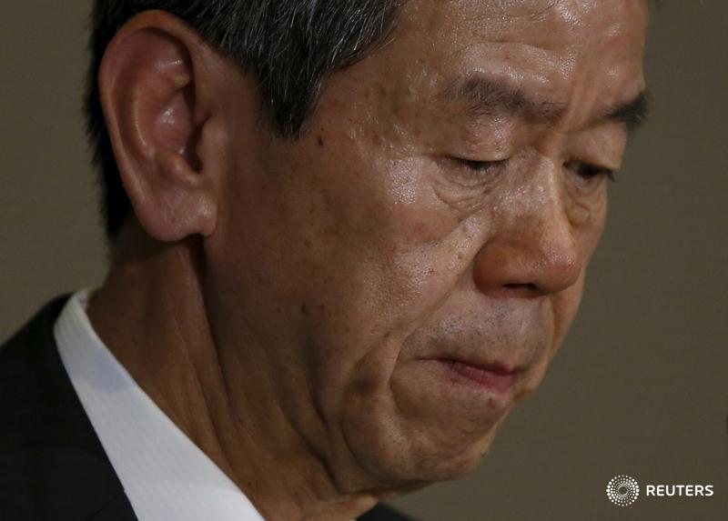Toshiba CEO to step down in September in accounting scandal: sources :