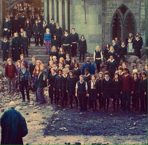 MOST OF THEM WERE TEENAGERS AND THERE WERE FACE TO FACE WITH VOLDEMORT. THIS IS SO UNDERRATED. THEY WERE ALL SO BRAVE http://t.co/BmsxVK35Zn