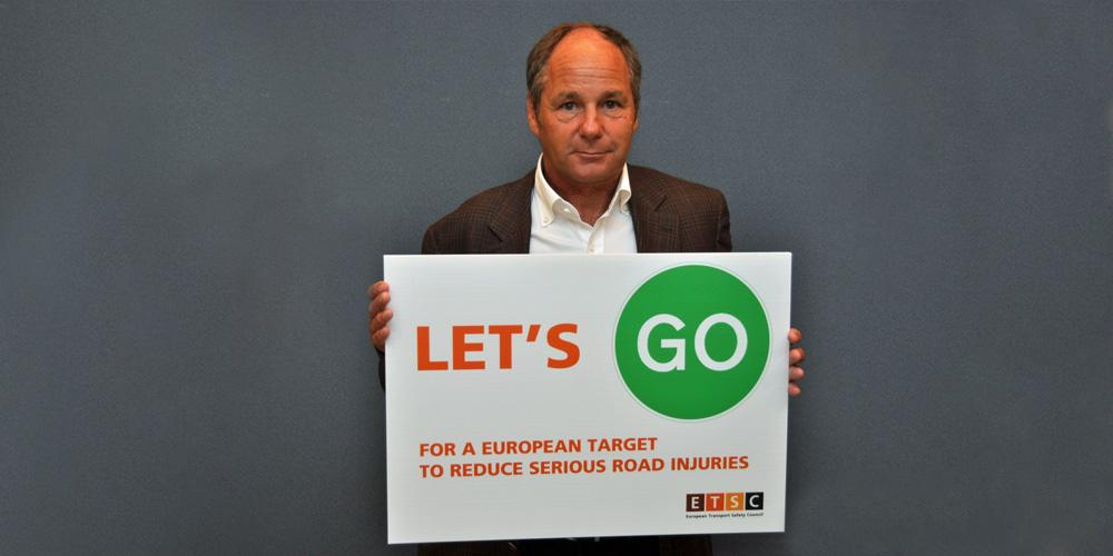 .@F1 legend #GerhardBerger says #LetsGo for an EU serious road injury target. http://t.co/BcYy7IdFYy 1/2 http://t.co/7a7dVBq91j