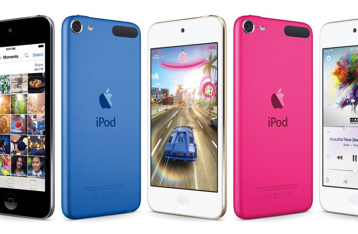Apple updated the iPod Touch.