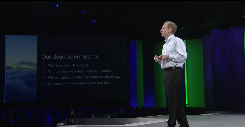 """We want to create a future where technology continues to empower the world."" - @BradSmi #WPC15 http://t.co/8FkuTDmXAG"