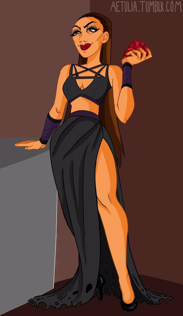 "princepuma: ""My next #inktober piece for my #womenofwrestling series, this  time"