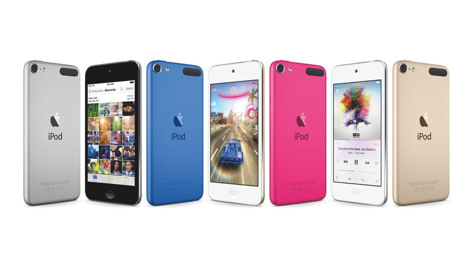 The new iPod touch: Better specs, new colors, same price