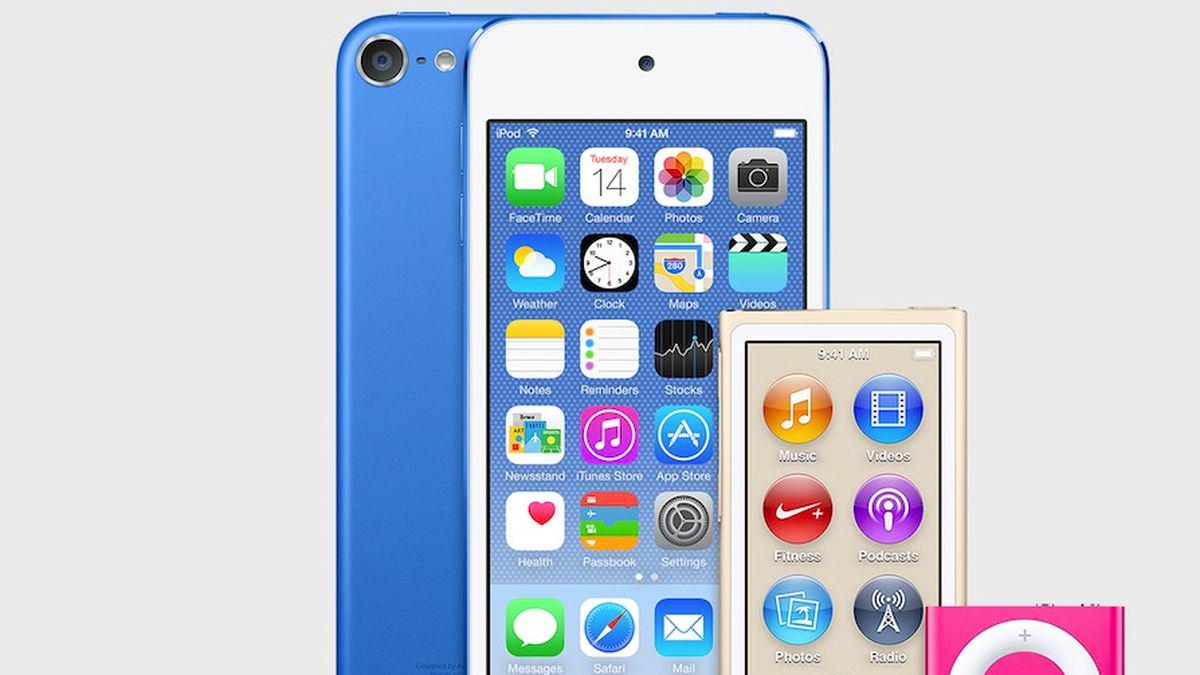 Apple refreshes iPod lineup with new colors and major upgrades to iPod touch