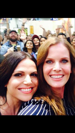 HAPPY BIRTHDAY to my Sister from another Mister! Love you babe. Have a Wicked Day! @LanaParrilla