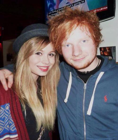 Ed Sheeran and his ex-girlfriend Nina Nesbitt