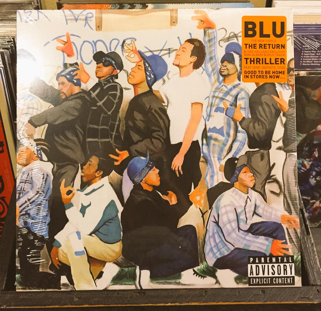 """Today we celebrate #FatBeatsFridays with Blu's (@HerFavColor) """"The Return"""" 12"""" from @naturesounds. http://t.co/cSMiQkRq5n"""