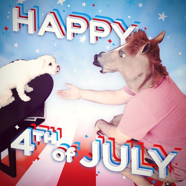 A little pre-holiday office horsing around. #Happy4th everyone! http://t.co/aSNX5an8Gi http://t.co/xMsa2VXiUj