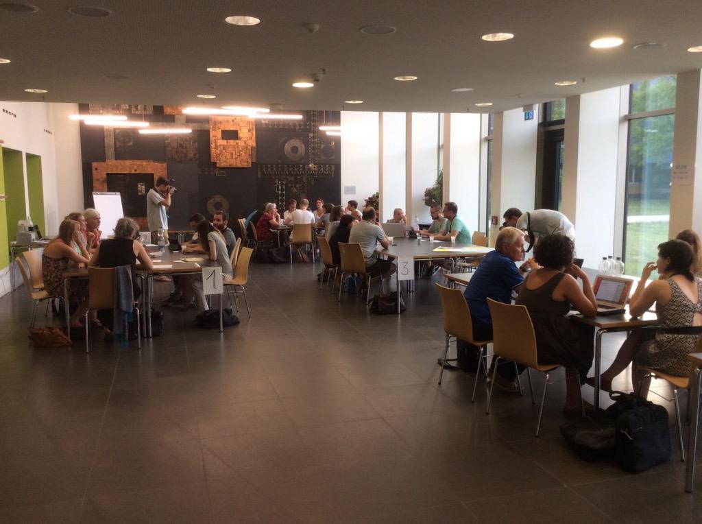 Die erste Gruppenphase läuft auf Hochtouren #CC15DA http://t.co/LDRtz8hEKz