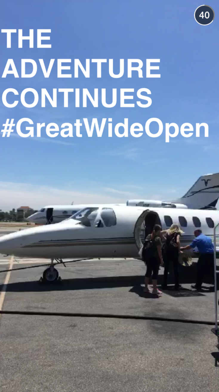 THE ADVENTURE CONTINUES. #GreatWideOpen http://t.co/pTtIh6mZax