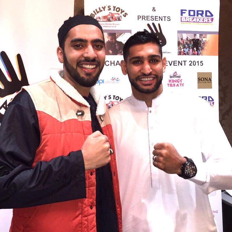 RT @irvinedda: RT Abdullah_Haqani: AmirKingKhan #Leicester see you shortly champ http://t.co/i0hHfRKLrf http://t.co/UgV5ItaUyb