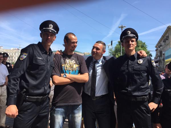 Патрульные будут работать в тестовом режиме до вступления в силу закона о Национальной полиции, - Згуладзе - Цензор.НЕТ 1812