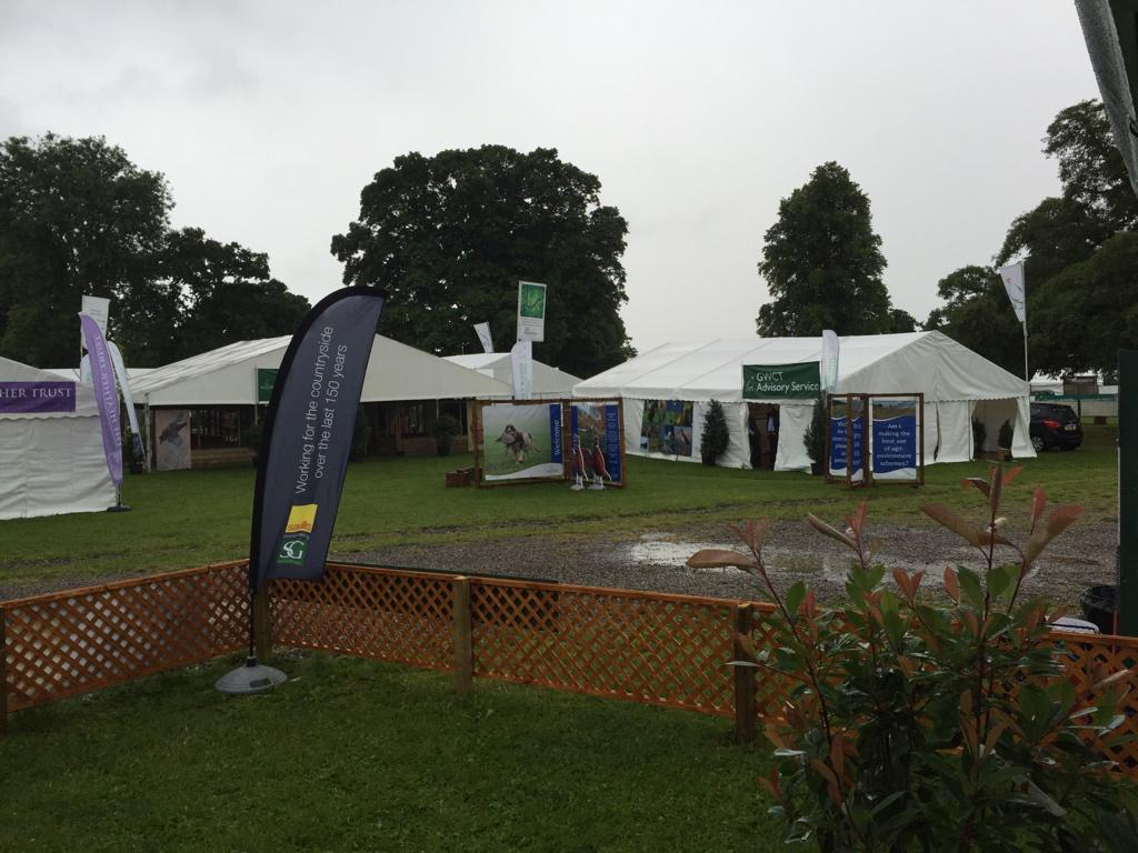 A spot of traditional Scottish weather isn't going to stop us at #SGF2015! http://t.co/BjjZWeXnPj