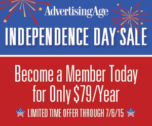 Ad Age is having a 4th of July Sale! Become a member today for only $79/yr. http://t.co/bVLXeLFMuV http://t.co/uhfER1ereH