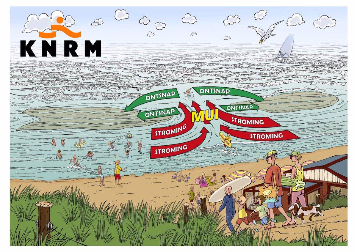 Vandaag naar het #strand? Wat is een #mui en hoe kom je er uit ? #verdrinking #preventie http://t.co/z81AE4DWfh
