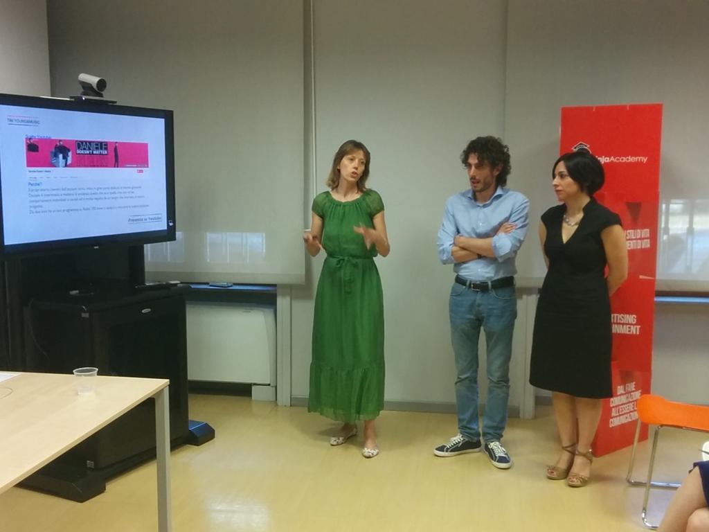 RT @michamati: Il team #smartninja presenta una bella  strategia alla #ninjafactory http://t.co/QTHijKi0mb