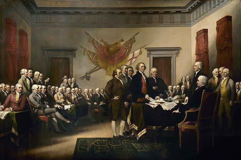 """""""It is a great day.  It is a good day.""""  John Adams, July 4, 1826 http://t.co/2kHr5EpwQ9"""