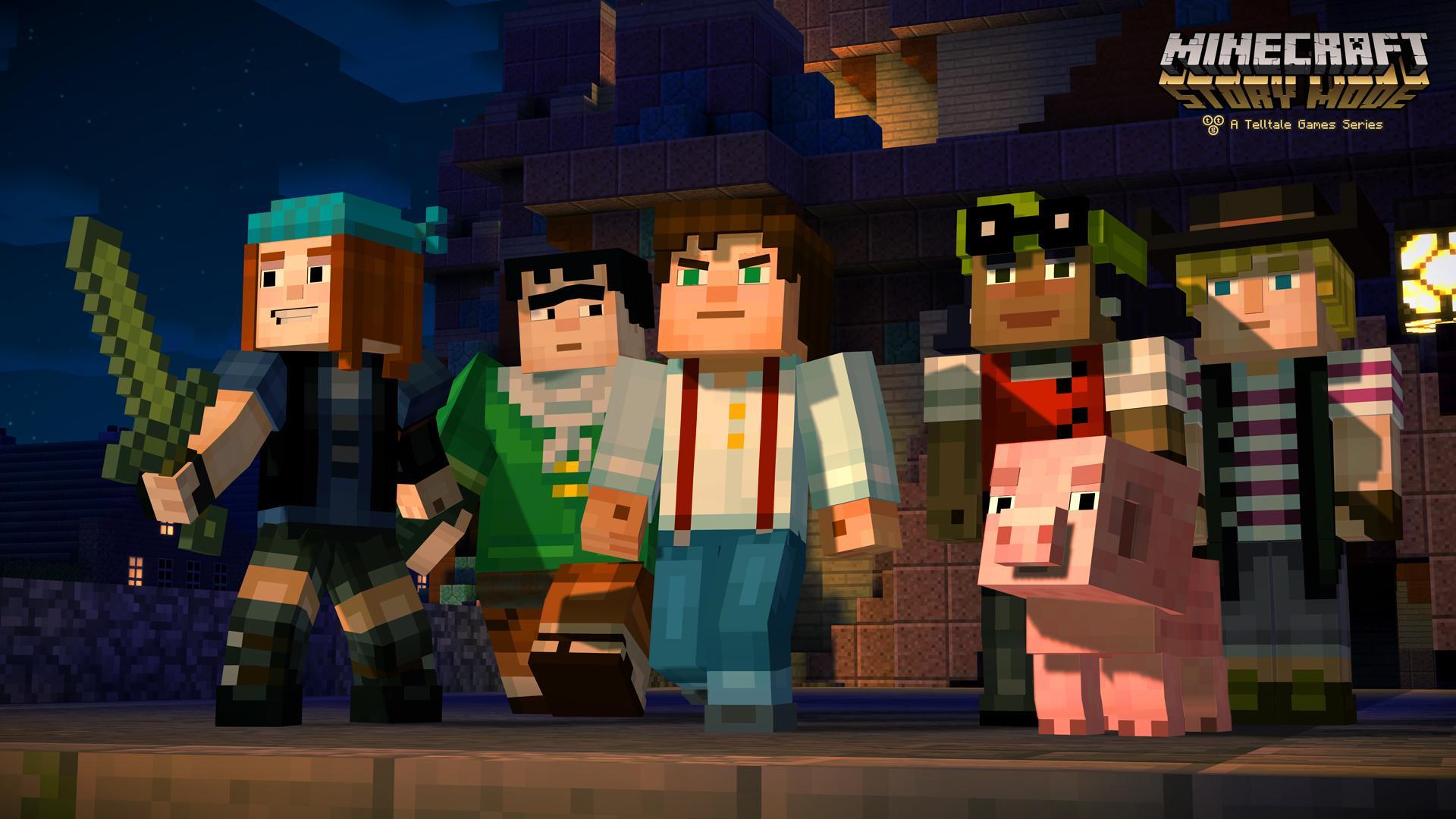 Llega una nueva versión de Minecraft [StoryMode]