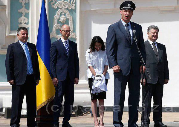 Мы будем работать, чтобы новая украинская полиция дошла в каждый городок и село, - Яценюк - Цензор.НЕТ 3652