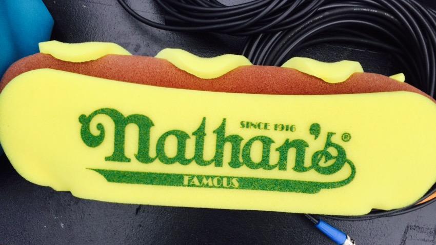 Nathan S Hot Dog Hat