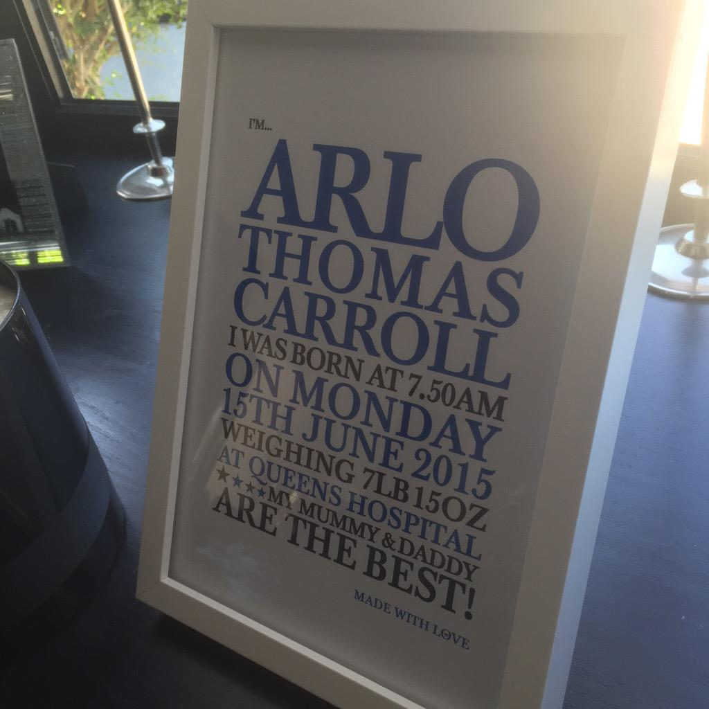 RT @AndyTCarroll: Nice surprise in the post thanks @allstargraffix http://t.co/SU4xczfqFE