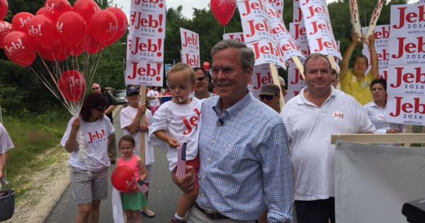 RT @BestBergerEver: .@JebBush Enjoy the #4thofJuly parade. Please RT, Jeb. https://t.co/bi5OUWXdxT http://t.co/oeBZkbnmWt