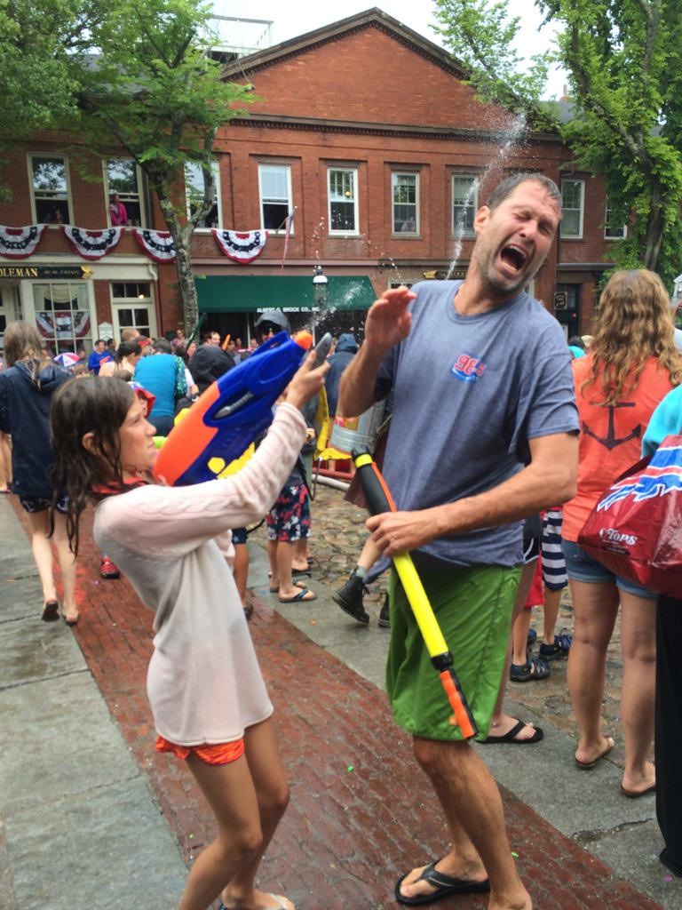 Felger getting crushed at nantucket 4th of july watertight ...