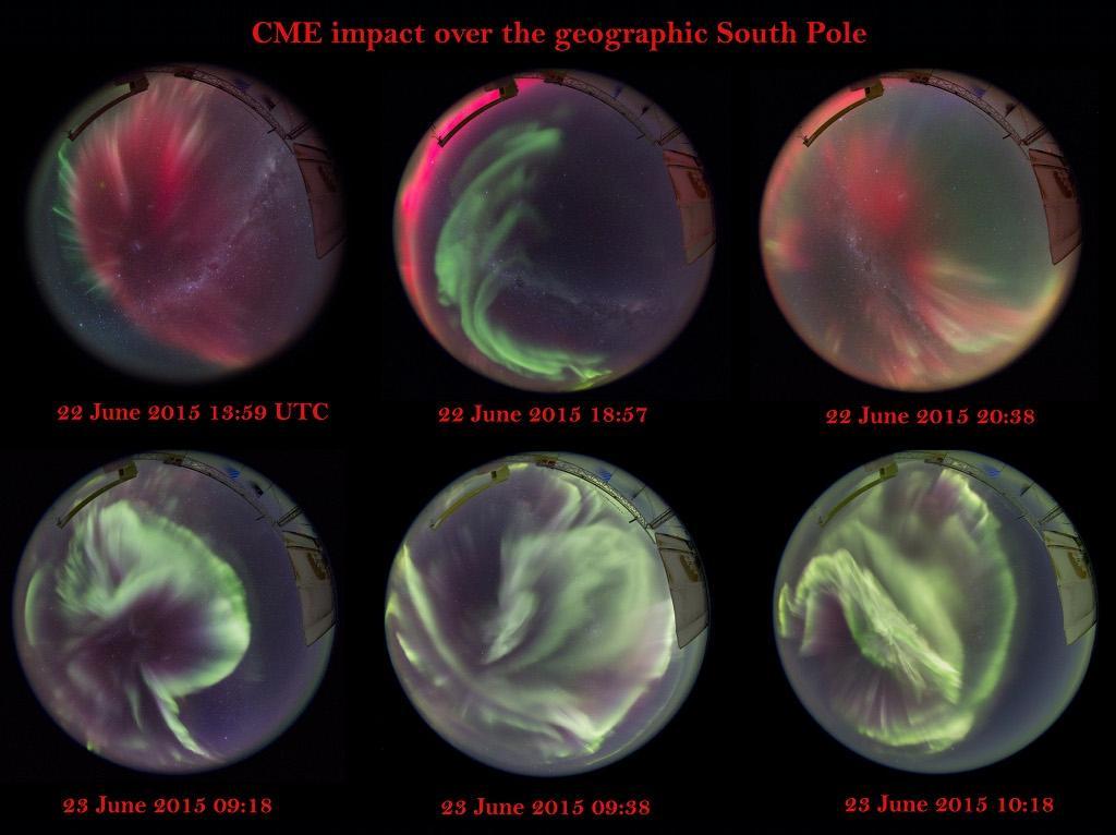 Aurore boreali inusuali? Arriva oggi la tempesta geomagnetica.