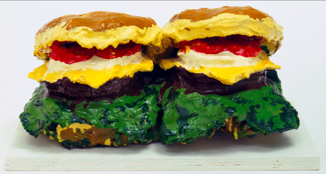 "RT @MuseumModernArt: Who wants seconds? We'll save you one of Claes Oldenburg's ""Two Cheeseburgers."" http://t.co/8raWncIstU #4thofJuly http…"