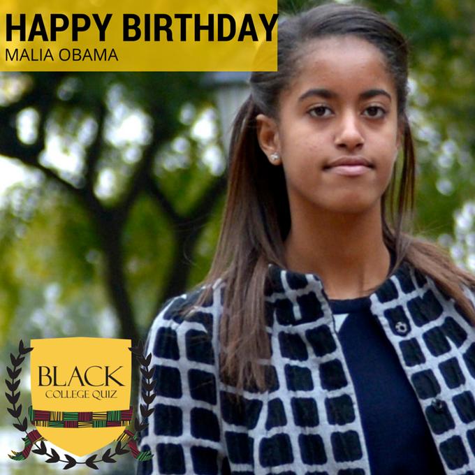 Malia Obama's Birthday Celebration   HappyBday.to
