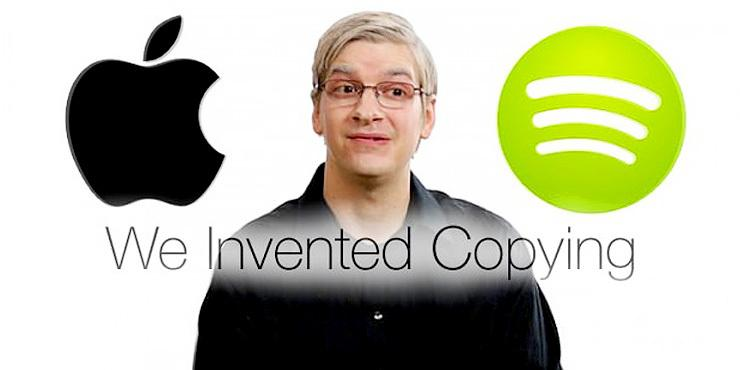 'Copying Spotify' – College Humor Pay Some Ironic Homage To Apple's Latest Piece Of Innova… http://t.co/XbmpJRtqZd http://t.co/oHV7DID2yL