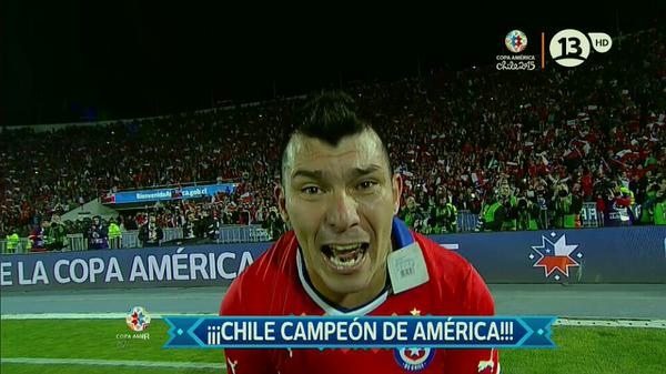 Chile Campeón #CopaAmericaChile2015. :') http://t.co/pMdlQfp3Cf