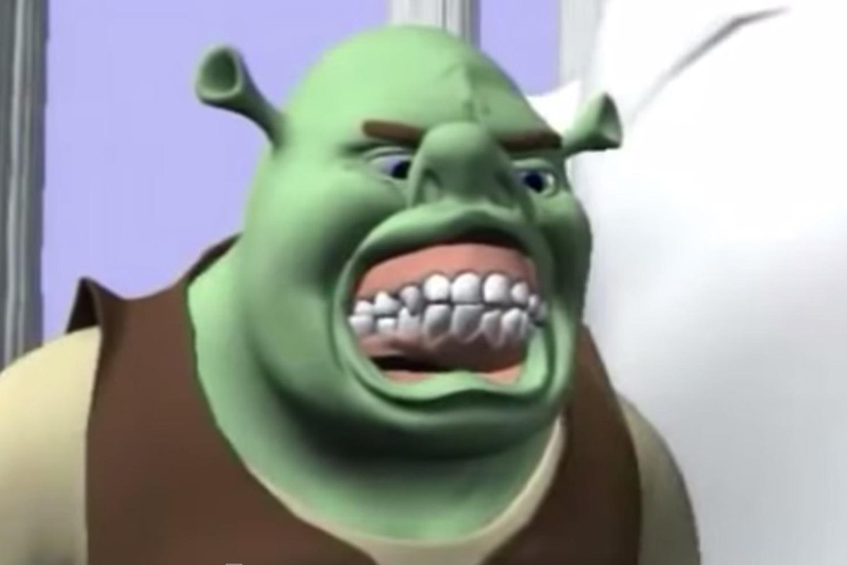 Tommy Toe Hold On Twitter Fun Fact Shrek Was Originally Animated In Your Nightmares Http T Co Yfxjk0fml5