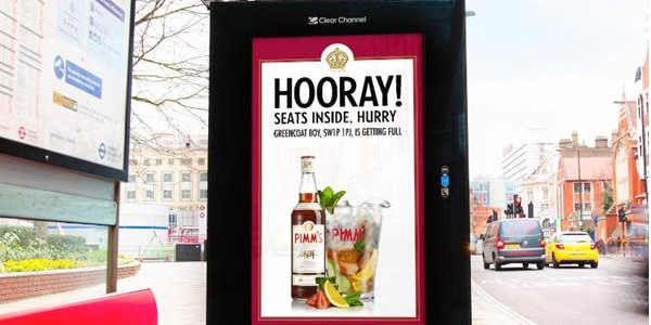 Pimm's launches innovative digital posters - take a look here: http://t.co/Bu1V9gCPAu #summertime http://t.co/BlNJHLlGek