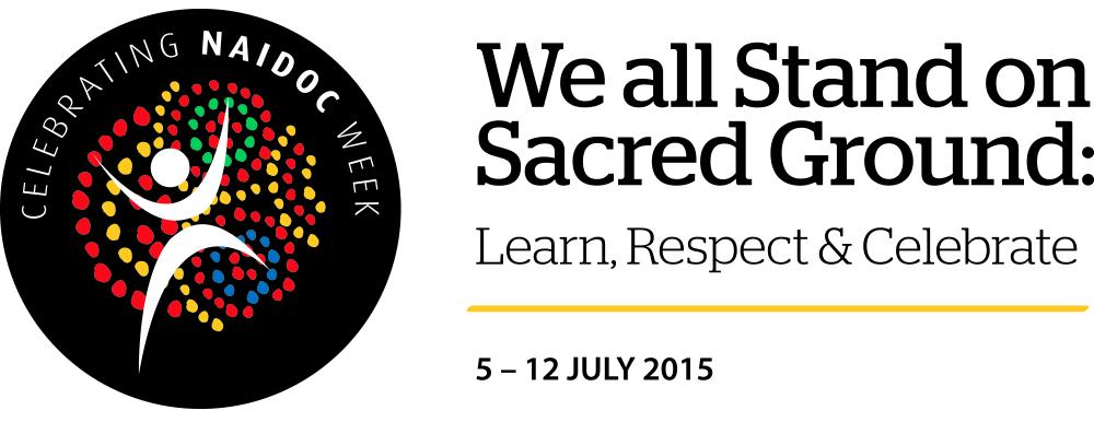 NAIDOC week starts today. As #aussieED starts let us remember We stand on sacred ground: Learn, Respect and Celebrate http://t.co/68ev76dZl7