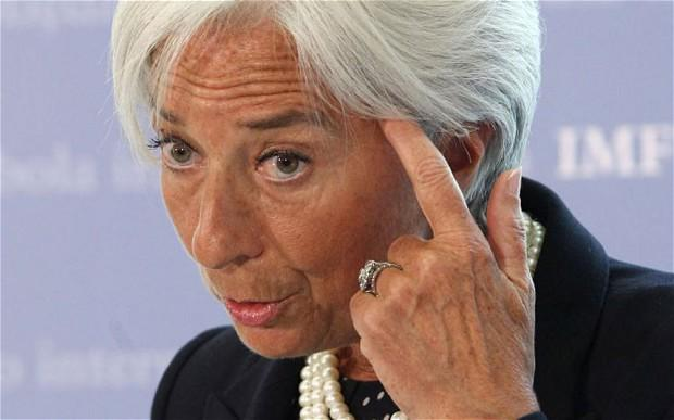 IMF's Lagarde pays no taxes on her £300,000 salary http://t.co/vLJNraBEKU http://t.co/7kLuOdduCB